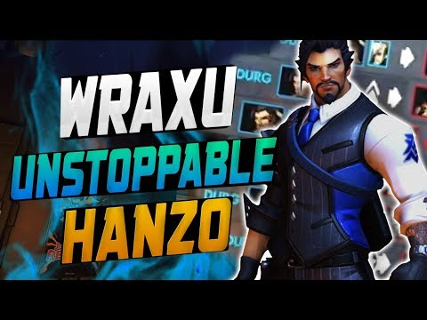 HANZO Dominating Season 11 - WRAXU! [ OVERWATCH SEASON 11 TOP 500 ] thumbnail
