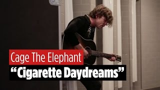 "Cage The Elephant Sings ""Cigarette Daydreams"" in an Empty Bathroom"