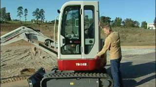 Video still for Takeuchi TB138FR Full Rotation Mini Excavators