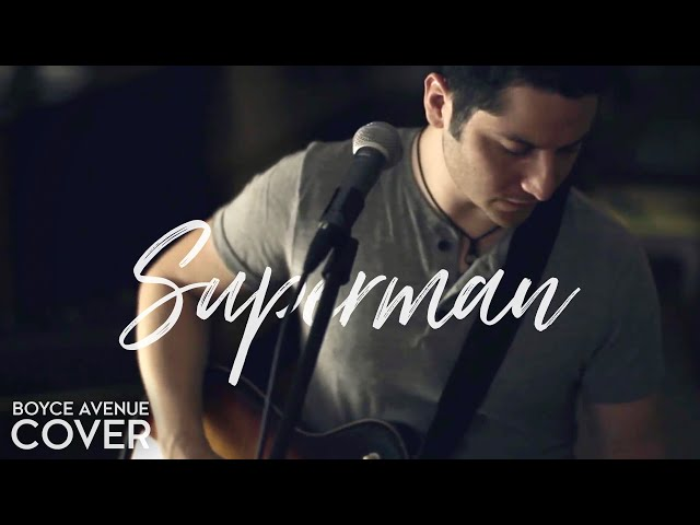 Superman Five For Fighting Boyce Avenue Cover On Spotify Apple