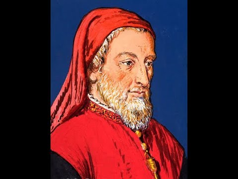 Geoffery Chaucer known as the Father of English Literature
