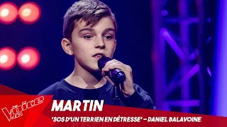 Martin - 'SOS d'un terrien en détresse' | Blind Auditions | The Voice Kids Belgique
