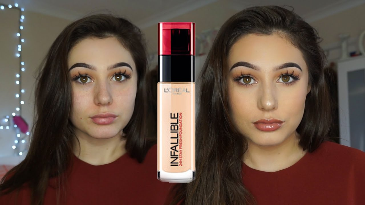 Foundation Review After Loreal And