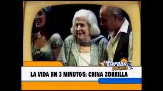 Biografía de China Zorrilla