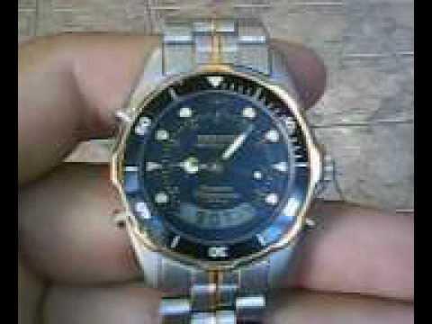 Relógio Technos Skydiver T205 10 (masculino) - YouTube 3b682473bf