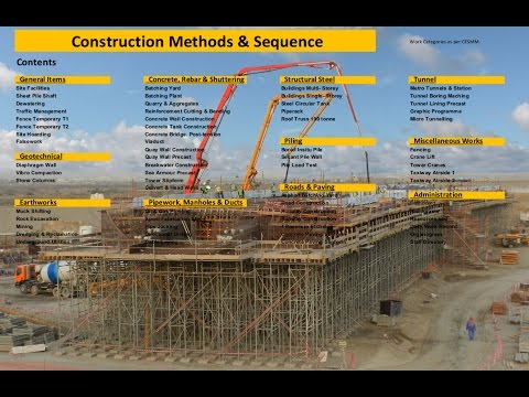 Construction Methods & Sequence