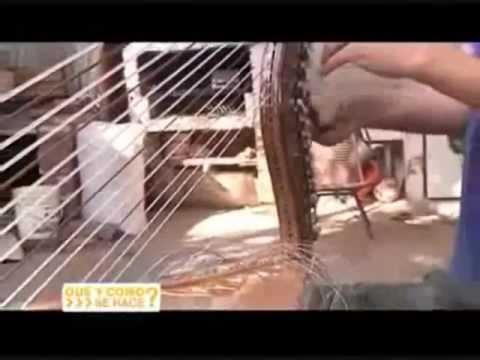 ▶ Como se fabrica uma Harpa Paraguaia