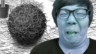 【バカゲー実況】ちぢれ毛のボールがデカくなってくゲーム「毛塊」やってみた!【ヒカキンゲームズ】 thumbnail
