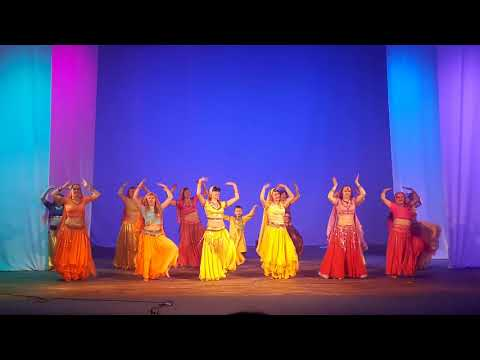Punjabi dance by Russian Girls | Tambov State Medical University, Tambov