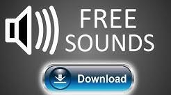 KOSTENLOSE SOUNDS/SOUNDEFFEKTE [Download, Free Sounds] Deutsch/German