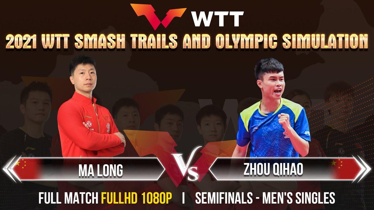 Download MA LONG vs ZHOU QIHAO | SF - MS | 2021 Chinese WTT Trials - FULL MATCH [1080P]