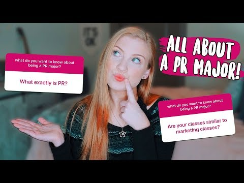 What It's Like Being A PR (Public Relations) Major In College!