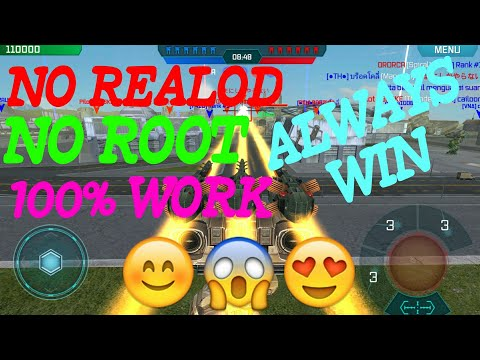 War Robots HACK NO REALOD 100% WORK (WITHOUT ROOT)