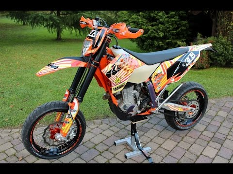 ktm 450 exc facrory motard youtube. Black Bedroom Furniture Sets. Home Design Ideas