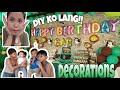 MURANG BIRTHDAY DECORATIONS!! HAUL + DIY BDAY DECOR!!