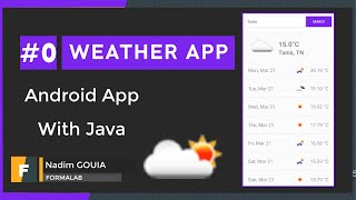#0 Introduction | Android Weather App using rest API | Android Tutorial 2021 -  تطبيق الطقس screenshot 4