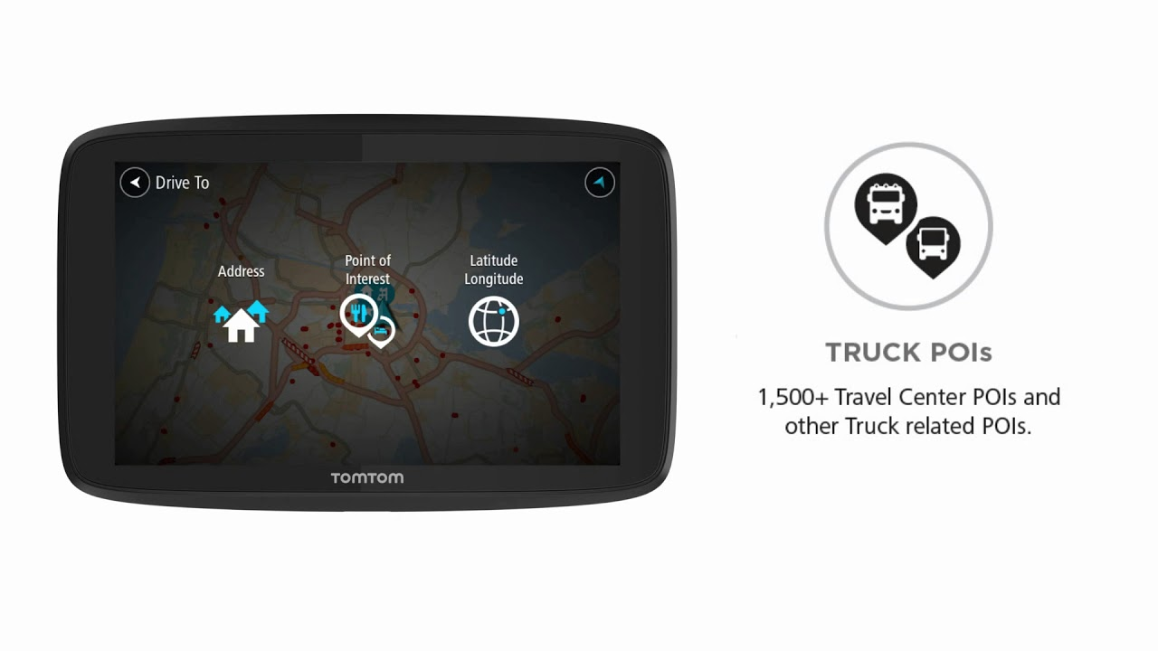 TomTom Trucker 620 - Plan, drive & deliver efficiently