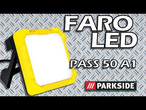 FORTISSIMO Faro LED da Lavoro PASS 50 A1 PARKSIDE