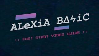 SPOOF HEADER :: ALEXIA BASIC FAST START VIDEO GUIDE