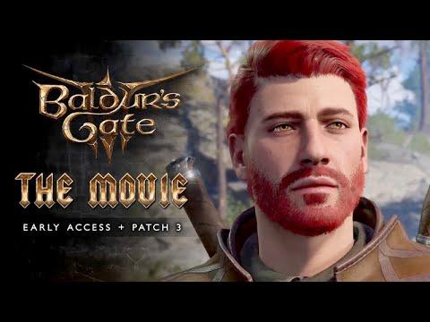 Download Baldur's Gate 3 (Early Access + Patch 3) ★ FULL MOVIE / ALL CUTSCENES 【Aedan / Human Fighter】