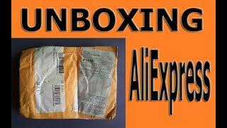 UNBOXING:AliExpress.Посылка потеряшка:))/UNBOXING:AliExpress.The premise of the lost:))