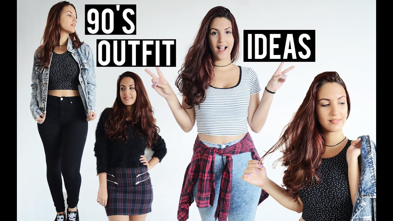 90'S OUTFIT IDEAS - YouTube