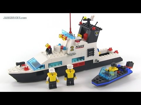 LEGO System 6483 Coastal Patrol police boat from 1994!