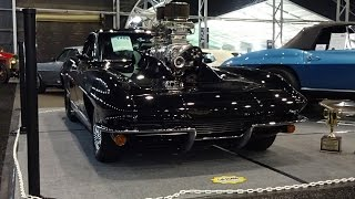 2600 HP Massive Engine & Sound 1964 Corvette Pro Street Custom on My Car Story with Lou Costabile