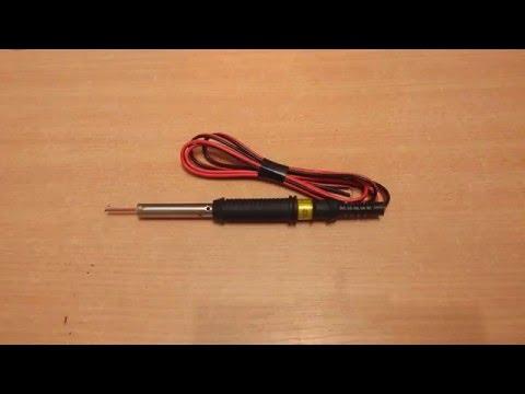 Видео как сделать паяльник своими руками