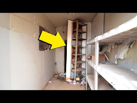 We Found A Secret Door To A Secret Room And What We Found Inside Was Chilling