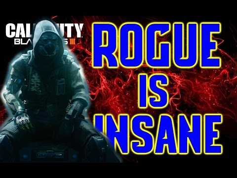 BO3 ROGUE specialist is Amazing! (160+ kills) Call of Duty Black ops 3 gameplay PS4