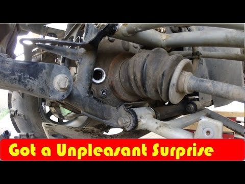 Arctic Cat How To Change Differential Oil
