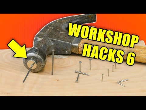 Quick Workshop Hacks Part 6: Woodworking Tips and Tricks