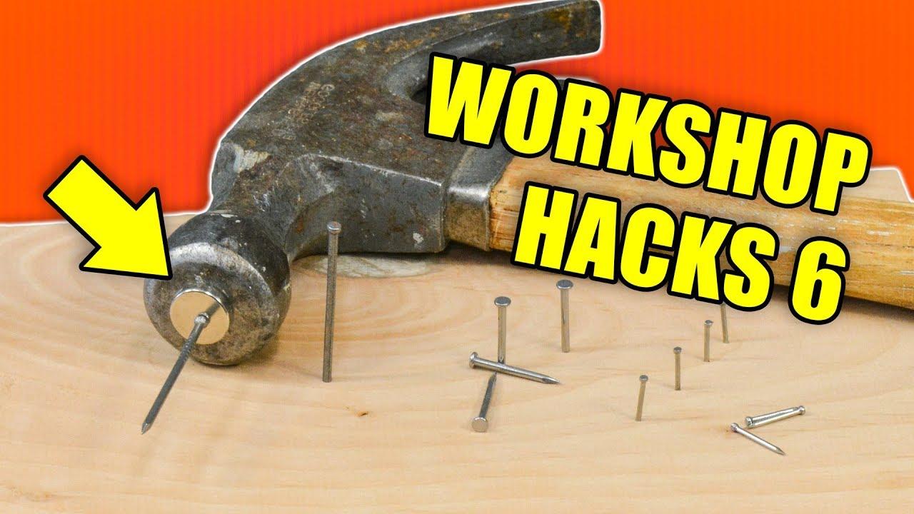 Quick Workshop Hacks Part 6: Woodworking Tips and Tricks ...