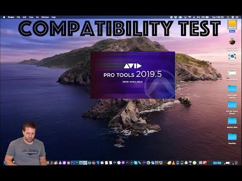 Mac OSX Catalina & Pro Tools - Compatibility Test