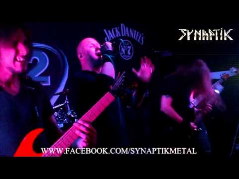 SYNAPTIK 'YOUR COLD DEAD TRACE' 19 6 13 @ B2 NORWICH PROGRESSIVE MELODIC METAL