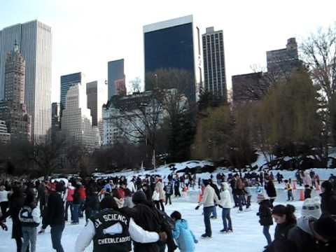 Wollman Ice-Skating Rink, Central Park,  New York