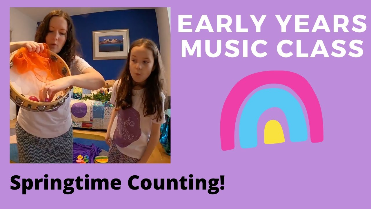 Early Years Class - Springtime Counting