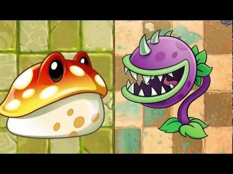 Chomper VS Toadstool - Epic Rap Battles Of Botany