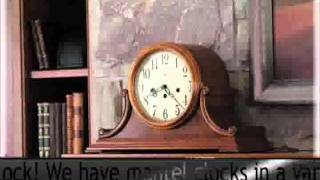 Hm Keywound Chiming Mantel Clocks