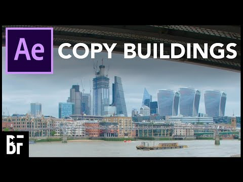 Add Buildings to Your Shot (After Effects Tutorial)