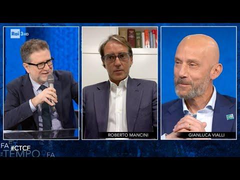 Gianluca Vialli e Roberto Mancini - Che Tempo Che Fa 30/05/2021