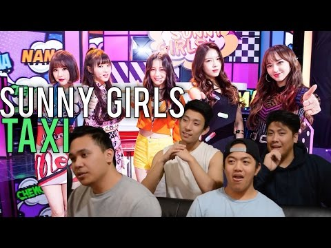SUNNY GIRLS | TAXI Live stage reaction