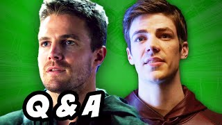 Arrow Season 3 and The Flash Q&A - Flarrow and Atom Powers