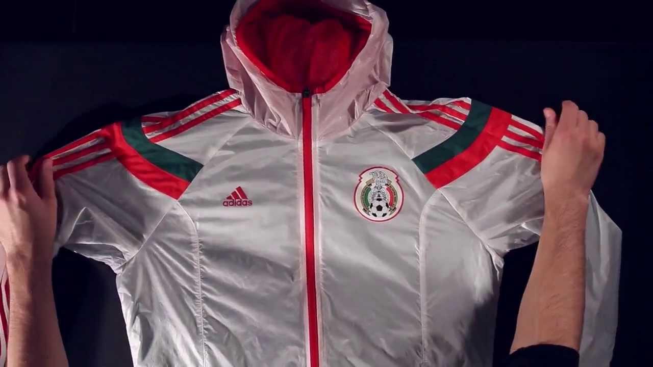 Adidas Mexico 2014 Anthem Jacket Unboxing Youtube