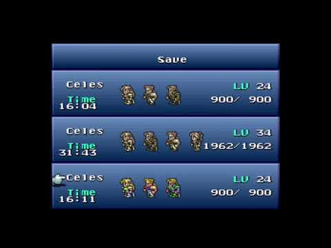 Wandering through Final Fantasy VI: Brave New World  Mod (1.8.5) - Bet your life!