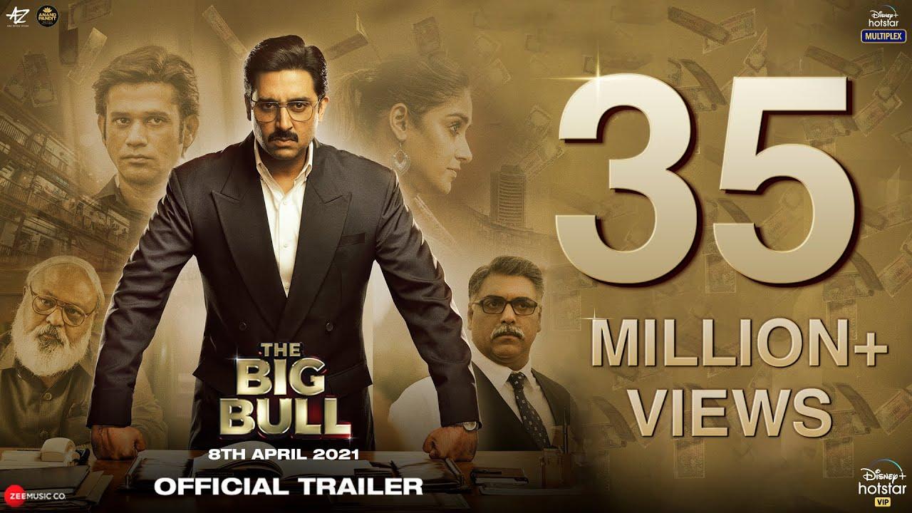 Download The Big Bull: Official Trailer | Abhishek B, Ileana D, Nikita D, Sohum S | Kookie Gulati | 8th April