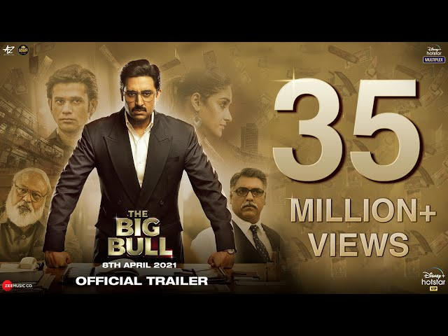 The Big Bull: Official Trailer | Abhishek B, Ileana D, Nikita D, Sohum S | Kookie Gulati | 8th April