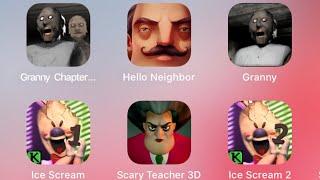 granny hello neighbor horror game fgteev mod gaming youtube in real life minecraft roblox ice scream