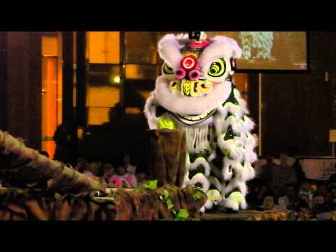 Traditional Lion Dance Competition